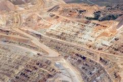 открытый карьер шахты Стоковое Фото