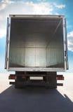 Открытый контейнер тележки стоковое изображение