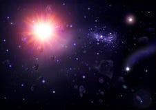 открытый космос Стоковые Изображения RF