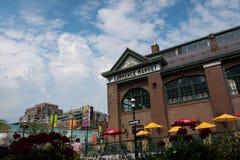 Открытый рынок в Торонто, Онтарио Св. Лаврентия, Канада Стоковые Изображения RF