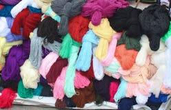 Открытый рынок в Otavalo эквадоре 3 Стоковые Фотографии RF