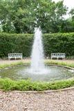 Открытый сад фонтана Стоковое фото RF