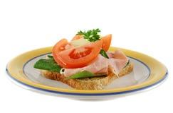 открытый сандвич 5 Стоковые Изображения