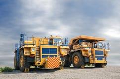 Открытый - шахта бросания Стоковые Фото