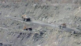 Открытый - шахта бросания видеоматериал