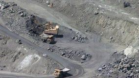 Открытый - шахта бросания акции видеоматериалы