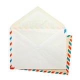 2 открытых винтажных конверта Стоковое Изображение RF
