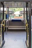 Открыть двери для поезда или трамвая в городе Стоковые Изображения RF