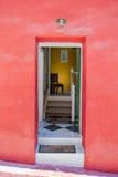 Открыть дверь Стоковые Фото