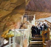 Отклонение к Cueva de las Manos стоковое изображение