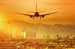 Отключение каникул к Лас-Вегас стоковые изображения rf