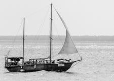 Отключение корабля стоковые фотографии rf