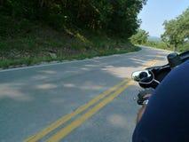 Отключение мотоцикла Стоковое фото RF