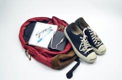 Отключение рюкзака Стоковые Изображения RF