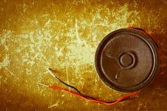 Отключенный винтажный ядровый диктор Стоковые Изображения