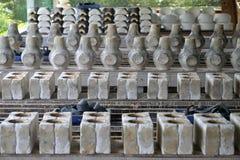 Отливка керамической формы стоковые изображения rf