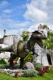 Отлитая в форму диаграмма Tyrannosaurus Стоковое Изображение RF