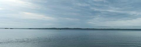 Отмелая панорама входа Стоковое Фото