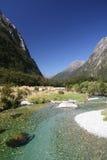 Отмелое река в горах Стоковая Фотография RF