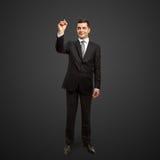 отметка бизнесмена Стоковые Фотографии RF