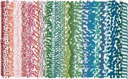 Отметка выравнивает основанную деревенскую картину, составленную эскизов вертикального, параллельного хода, линий иллюстрация вектора