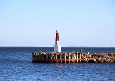 Отметка на моли на входе к малому порту Стоковое фото RF