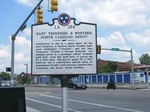 Отметка Теннесси историческая Стоковые Фото