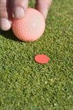 отметка человека шарика кладя вертикаль Стоковые Фото
