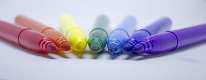 отметки радуги Стоковое фото RF