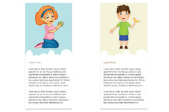 Отметки с детьми Стоковые Фотографии RF