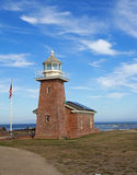 Отметьте маяк Abbott мемориальный в Santa Cruz, CA Стоковое Изображение RF