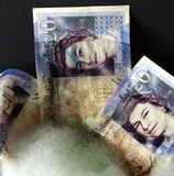 Отмывание денег Стоковое фото RF