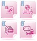 отнесенные иконы гостиницы Стоковые Фото