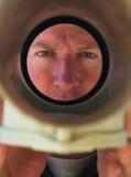 отнесено вниз с смотреть водопроводчика трубы стоковые фото