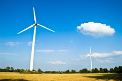 относящая к окружающей среде ветрянка Стоковые Фотографии RF