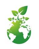 относящая к окружающей среде икона Стоковые Фото