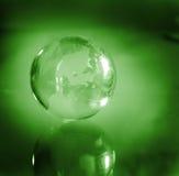 относящая к окружающей среде ответственность глобуса Стоковые Изображения RF
