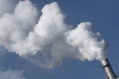 относящое к окружающей среде загрязнение Стоковое Изображение RF