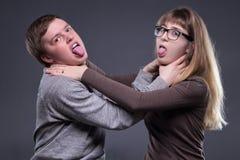 Отношение подростковых пар Стоковое Изображение RF
