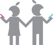 Отношение человека и женщины Стоковое Изображение RF