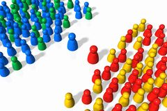 отношения социальные иллюстрация вектора