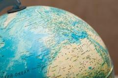 Отображение макроса земли планеты Стоковое Изображение