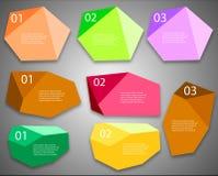 Отображение плана современного дизайна Стоковое Изображение