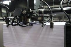 отожмите печатание стоковая фотография