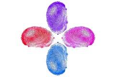 Отпечатки пальцев Стоковые Изображения