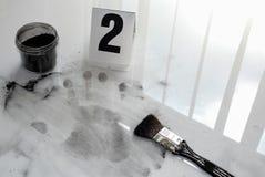 Отпечаток пальцев Стоковые Изображения RF