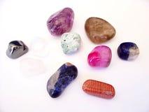 отполированные камни утесов Стоковые Изображения