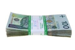 отполируйте 10 тысяч zlotys Стоковая Фотография