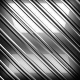Отполированная предпосылка металла 3d изолировало представленный видео- белый мир Стоковое Изображение RF