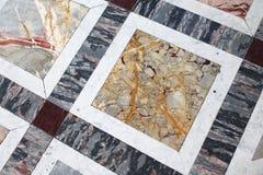 Отполированный каменный пол в Париже, Франции стоковое фото
